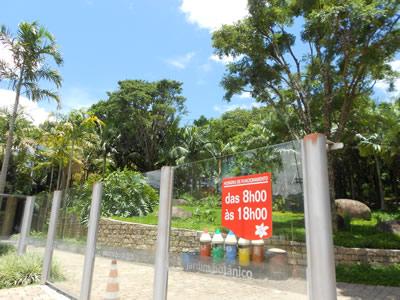 jardim botanico jundiai horario