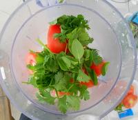 alimentos e bebidas à base de espinafre